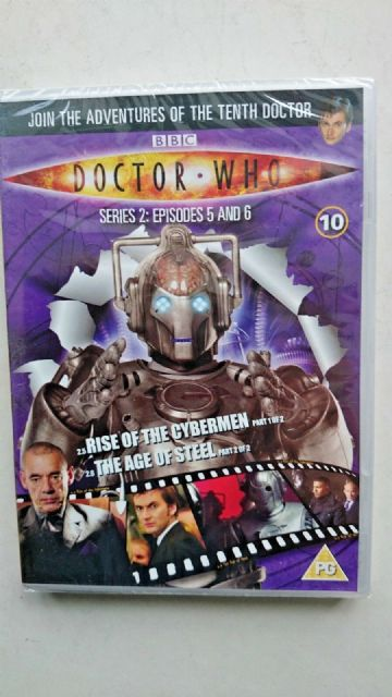 Doctor Who Series 2 Episodes 5 & 6  DVD - David Tennant - NEW and SEALED